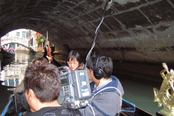 『NHK撮影風景