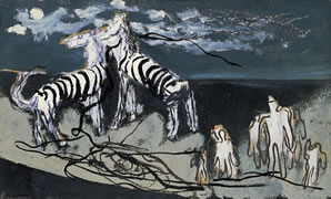 《夜の縞馬》 38.2×6302 1936年