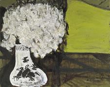 《白い花(ヴェロンにて)》 1989年
